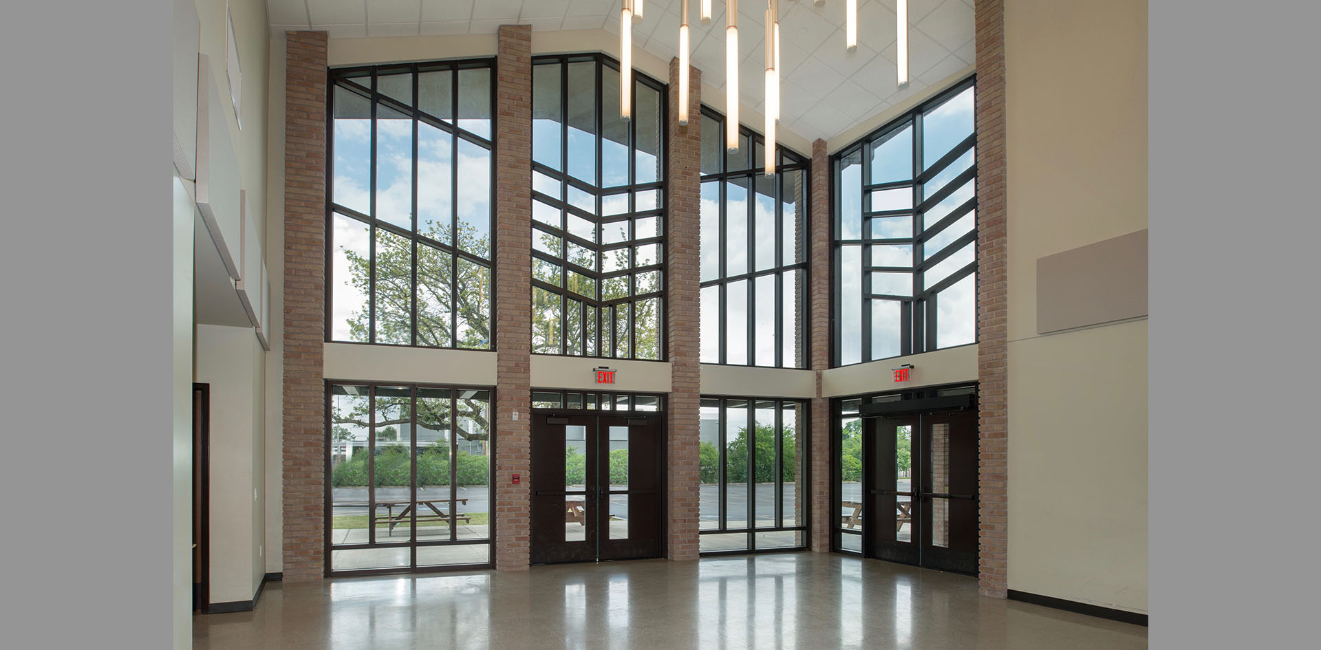 Church renovation history good brick southwest Houston  CCSC Architecture award winning